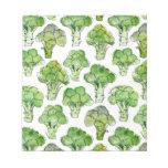 Broccolli - formal notepad