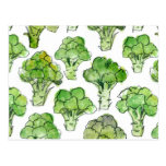 Broccolli - formal postcard