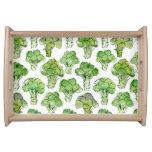 Broccolli - formal serving tray