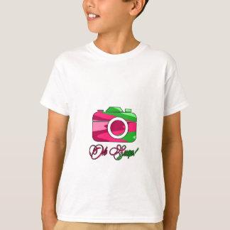 Broche de la cámara del multicolor oh playera