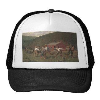 Broche de Winslow Homer el azote Gorras De Camionero