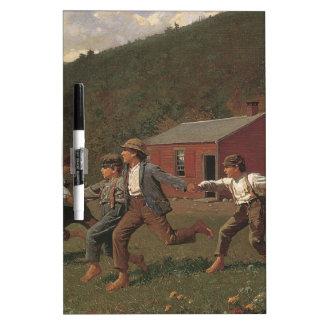 Broche de Winslow Homer el azote Pizarras
