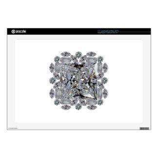 Broche del diamante del regalo calcomanías para 43,2cm portátiles