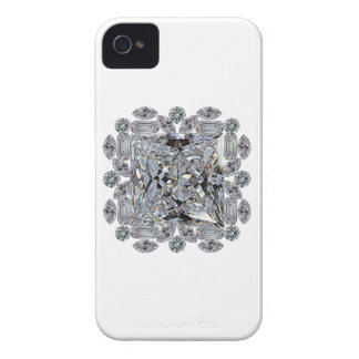 Broche del diamante del regalo carcasa para iPhone 4 de Case-Mate