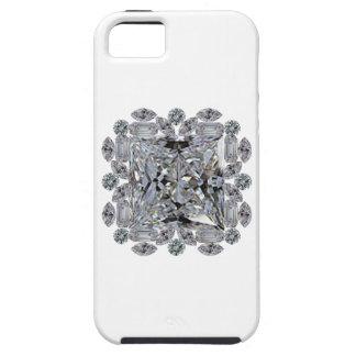 Broche del diamante del regalo funda para iPhone SE/5/5s