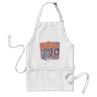 Broche del gato de Tom y Jerry Delantales