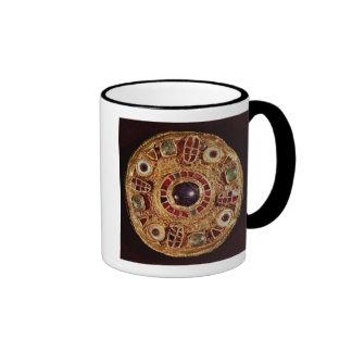 Broche redonda taza de café