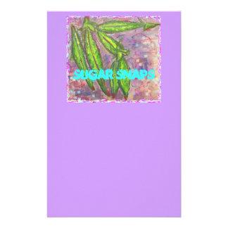 Broches del azúcar papelería de diseño