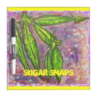 Broches del azúcar pizarra
