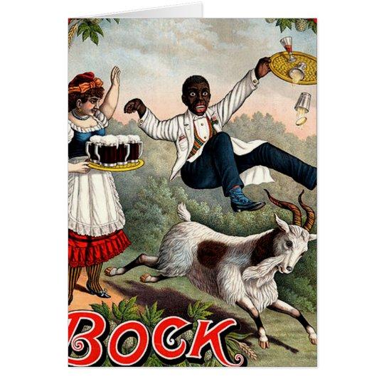 Brock Beer Advertisement Card