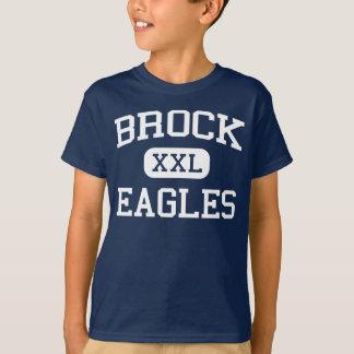 Brock - Eagles - Brock High School - Brock Texas T-Shirt