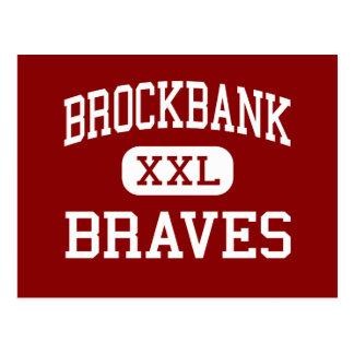 Brockbank - Braves - joven - Magna Utah Tarjetas Postales