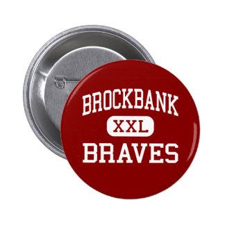 Brockbank - Braves - Junior - Magna Utah Pinback Button