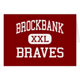 Brockbank - Braves - Junior - Magna Utah Cards