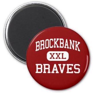 Brockbank - Braves - Junior - Magna Utah Magnets
