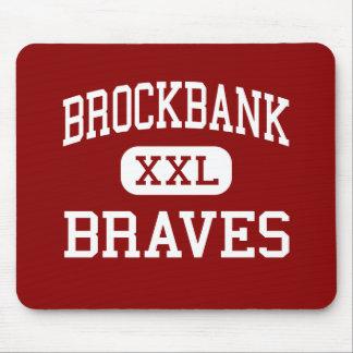Brockbank - Braves - Junior - Magna Utah Mouse Mat