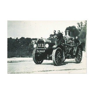 Brockton Fire Department - Engine Number 1 Canvas Print