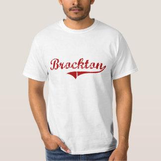 Brockton Massachusetts Classic Design T-Shirt