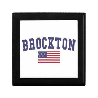 Brockton US Flag Keepsake Box