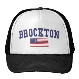 Brockton US Flag Trucker Hat