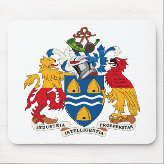 Brockville Coat of Arms Mousepad