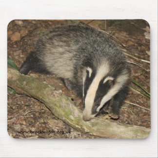 Brockwatch badger mouse mat mouse pad