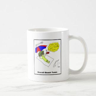 Brocolli Beach Tunes Coffee Mug