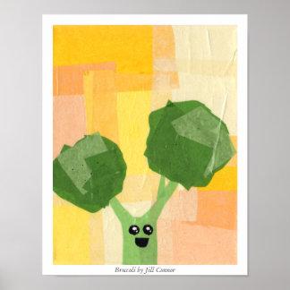 Bróculi de Jill Connor Posters