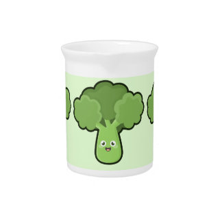 Bróculi de Kawaii Jarras De Beber