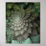 bróculi del fractal 3D Impresiones