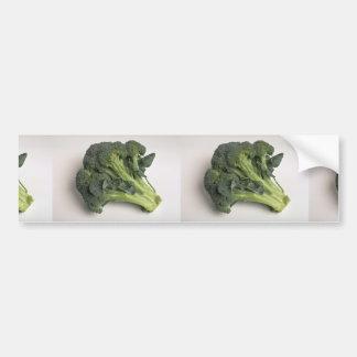 Bróculi delicioso pegatina de parachoque