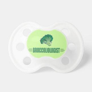 Bróculi divertido chupete de bebé