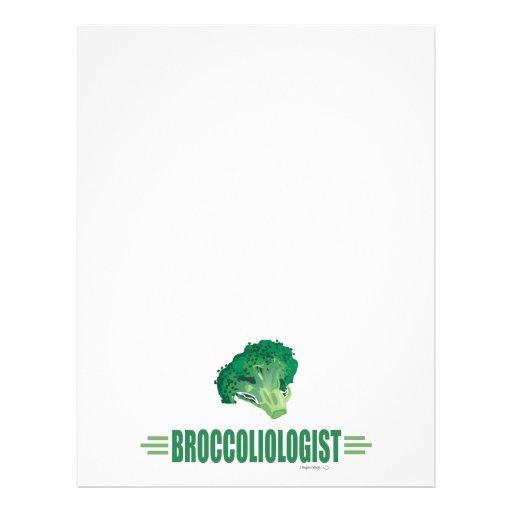 "Bróculi divertido folleto 8.5"" x 11"""