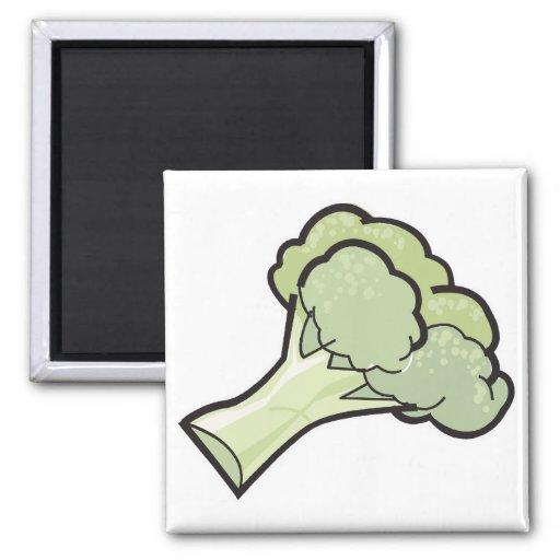 bróculi imán cuadrado