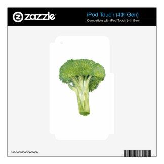 bróculi iPod touch 4G skin
