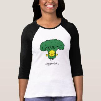 Bróculi - la camiseta de las mujeres del polluelo