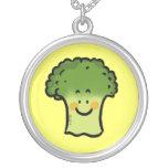 Bróculi lindo colgantes