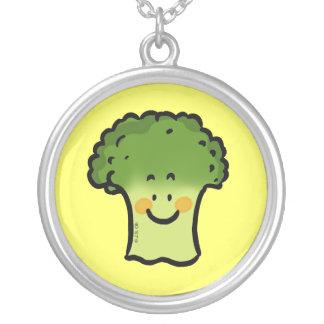 Bróculi lindo colgante redondo