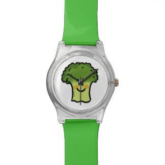 bróculi lindo reloj