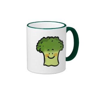 Bróculi lindo tazas de café