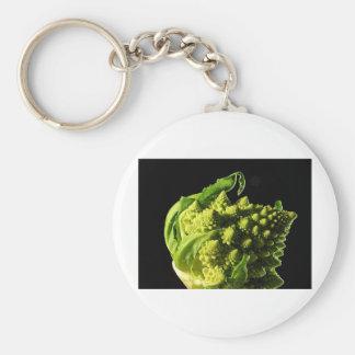 bróculi llavero redondo tipo pin