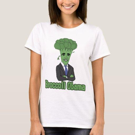 Bróculi Obama Playera
