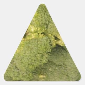 Bróculi Pegatina Triangulo Personalizadas