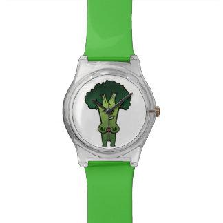 bróculi relojes de mano