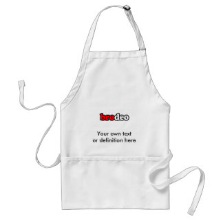 BRODEO APRON