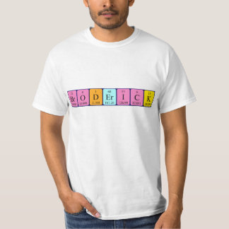 Broderick periodic table name shirt