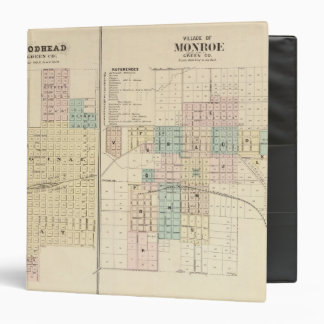 Brodhead and Village of Monroe, Green Co 3 Ring Binder