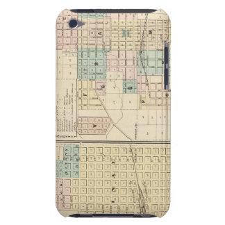 Brodhead y pueblo de Monroe, Co verde Case-Mate iPod Touch Carcasas