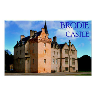 brodie castle poster