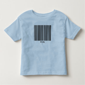 Brody Personalized Functional Barcode Tee